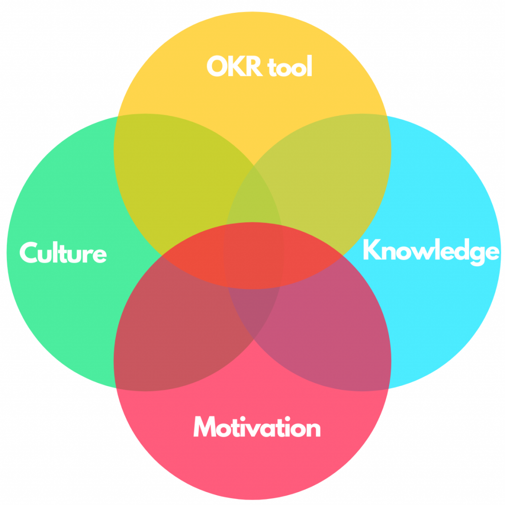 successful OKR implementation needs