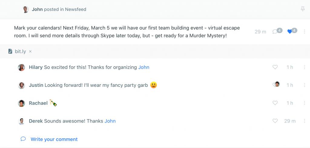 Virtual Team Communication Tool
